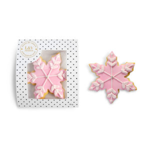 pink-snowflake-single-cookie